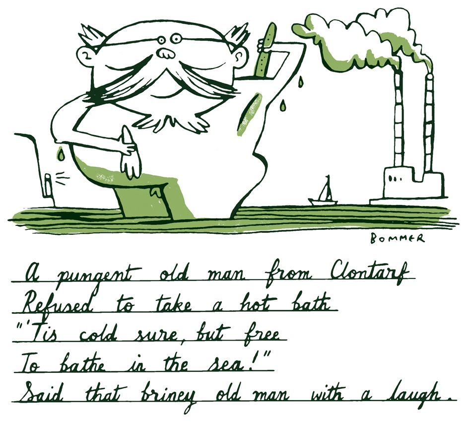 help me write a limerick How about trying to write some limericks for today's times here's an example: there once was a man from riverdale, whose cable tv one day did fail he said, gosh darn oh pooh now what shall i do so he wrote to his brother at yale.