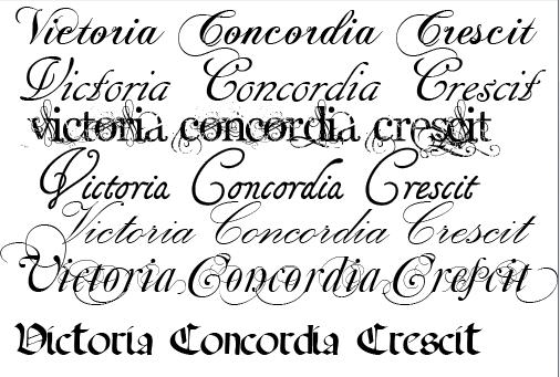 Police Calligraphie Tatouage - Script > Calligraphie dafont