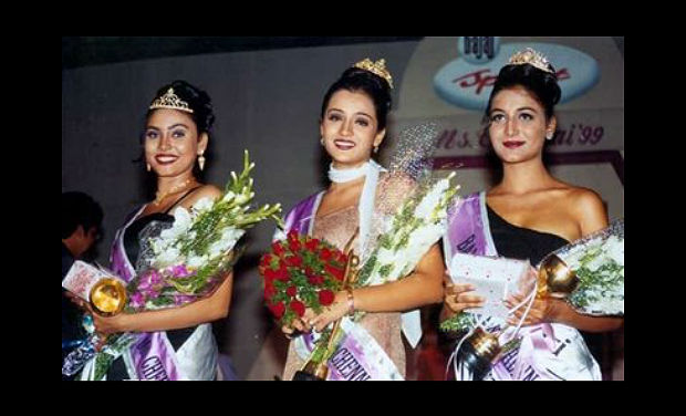 "Trisha's ""Miss Chennai"" Won Photo's Leaked"