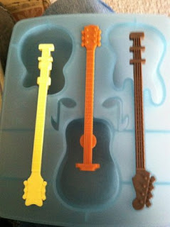 guitar ice cube tray mold