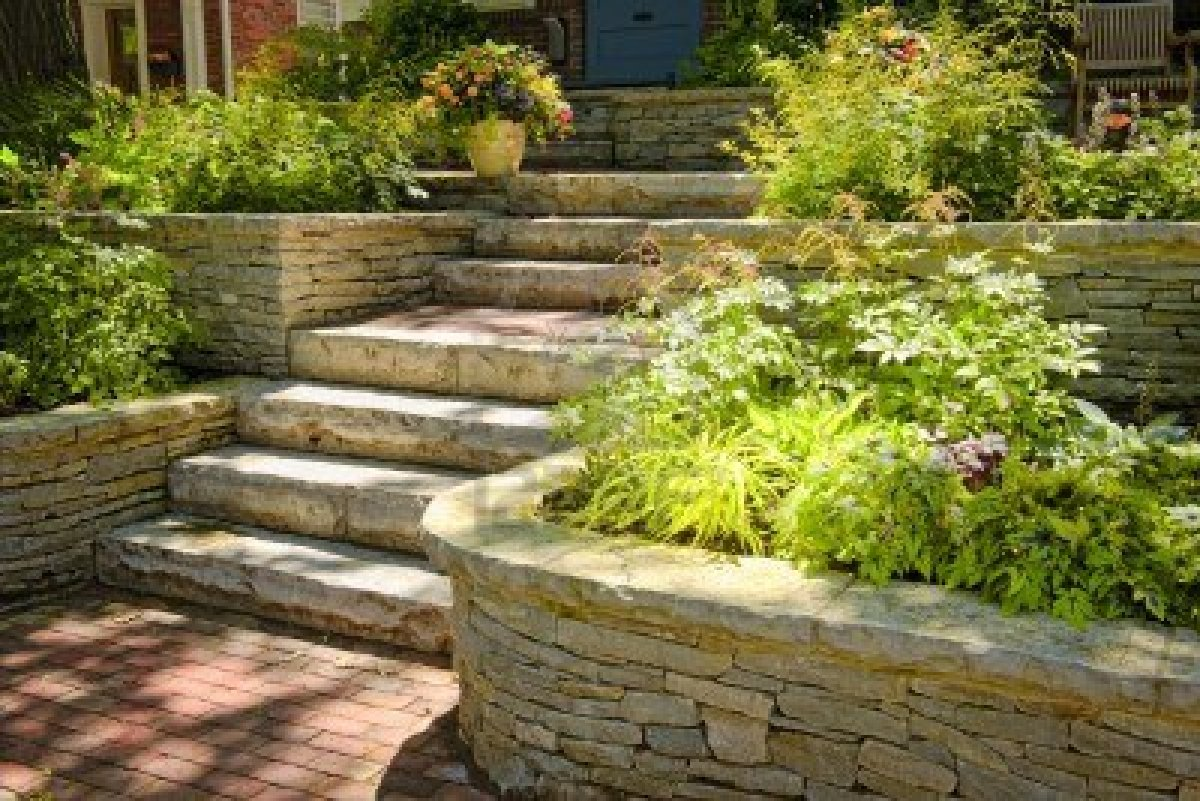 Images of my dream home stevensavannah for Natural rock landscaping