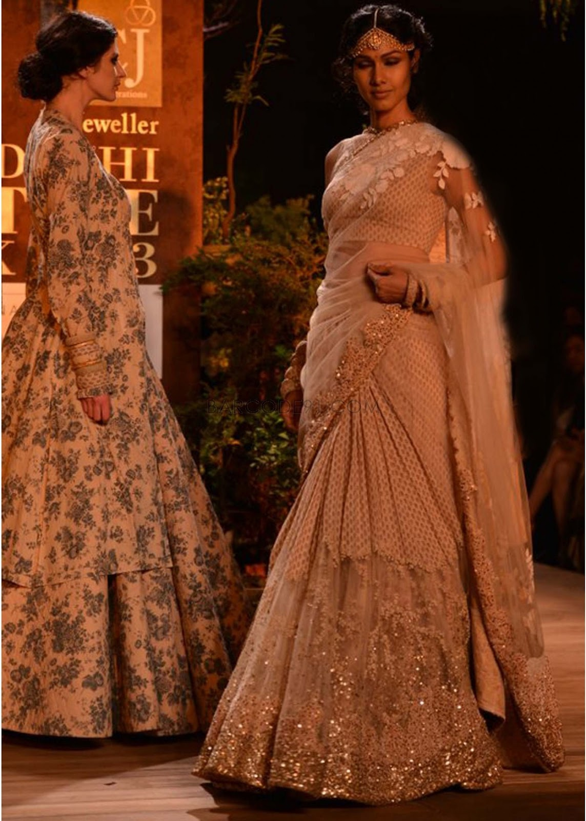 Sabyasachi Collection at PCJ Delhi Couture Week 2013 ... Sabyasachi Bridal Collection 2014