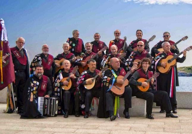 Tuna de veteranos de La Coruña