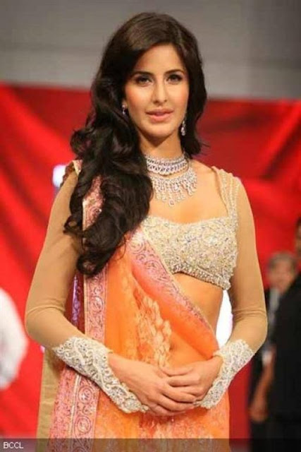 Katrina Kaif Bollywood Saree