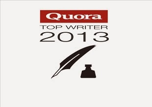 Quora Top Writer 2013