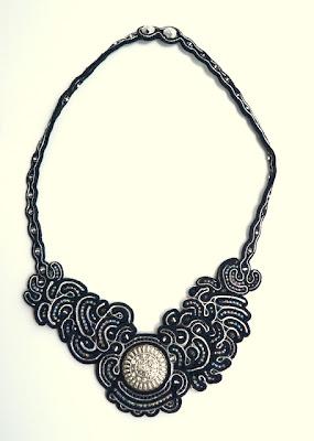 sutasz naszyjnik soutache necklace 3a