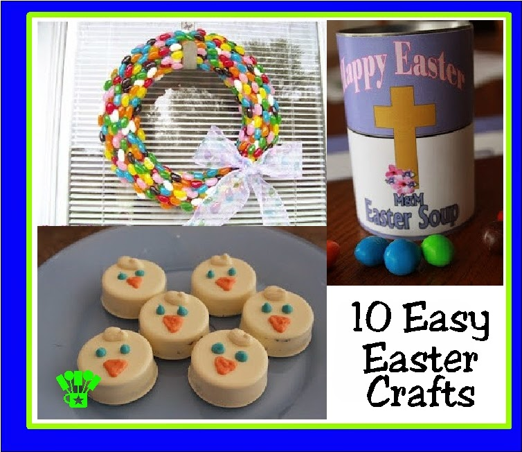 10 Easy Easter Crafts from the Archives from Kandy Kreations