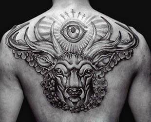 Fotos tatuagens de animais - cervo