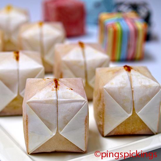 Ping's Pickings: Origami Cake
