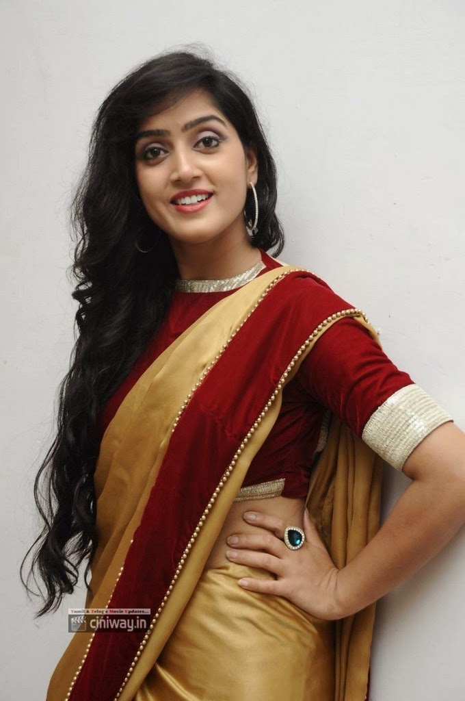 Divya-Singh-Stills-in-Saree-at-Pagadai-Pagadai-Audio-Release