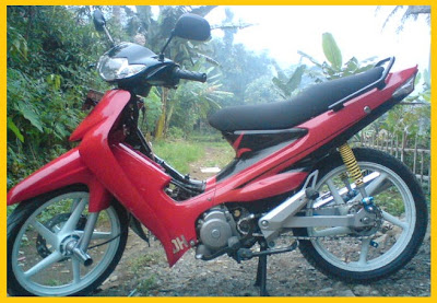 modifikasi suzuki smash 110 body costum variasi gambar foto suzuki