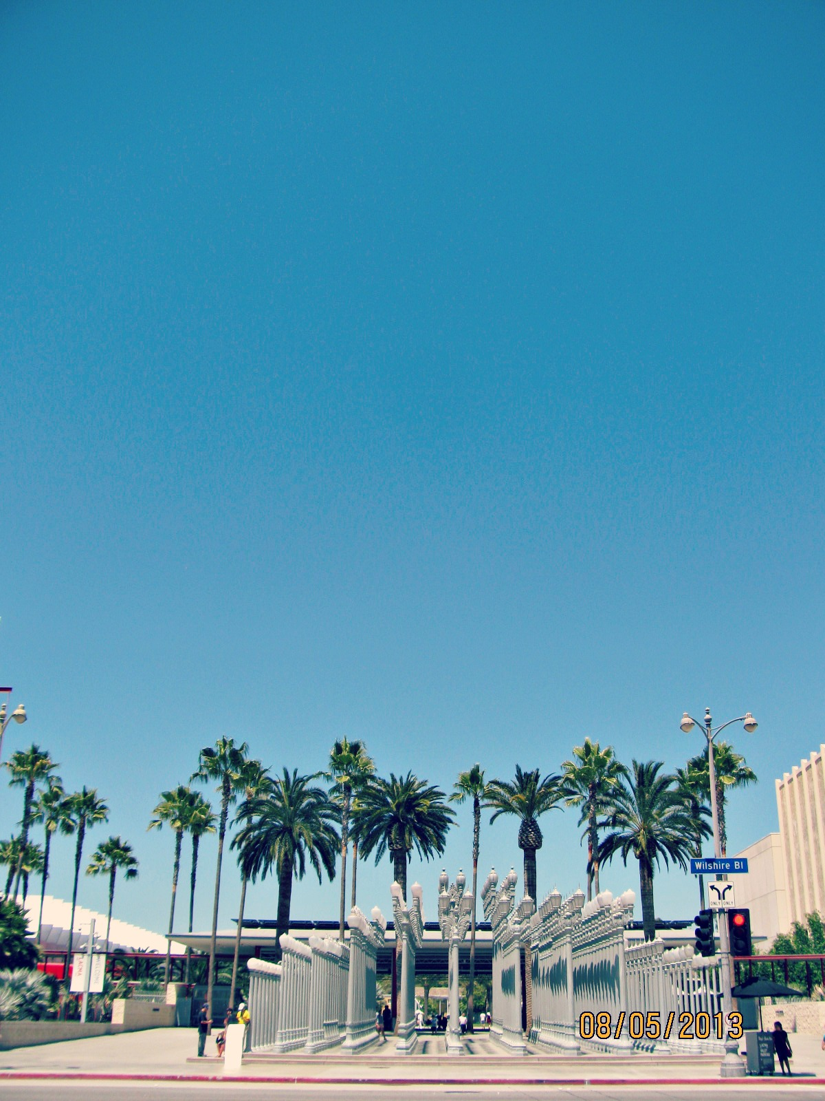 LACMA // Urban Light in the Summertime