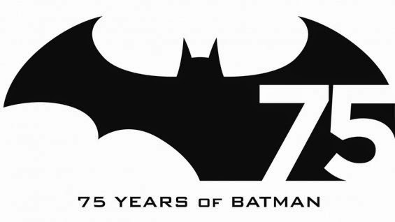 batman 75 years logo