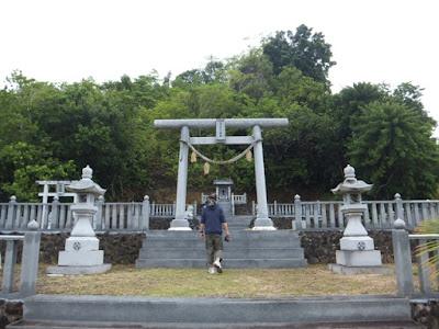 パラオ,ペリリュー,オプショナルツアー,神社