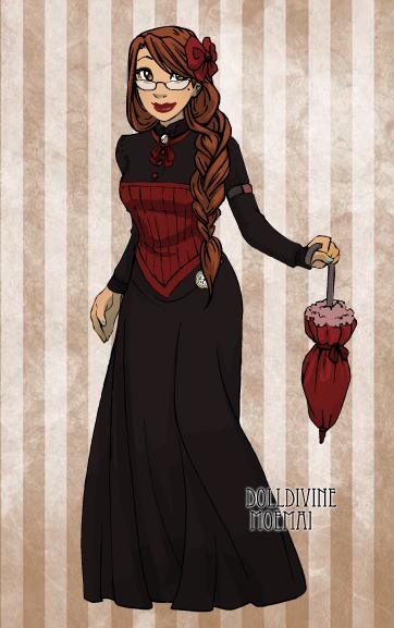 Madame Macabre en Polyvore.