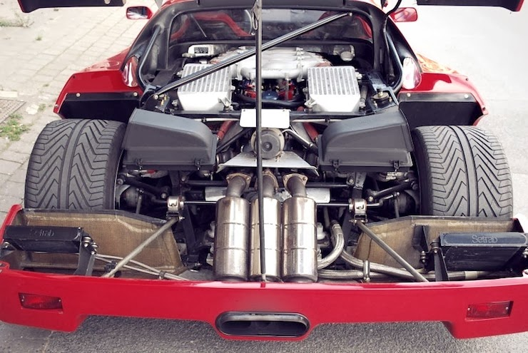 The Petrol Stop: Ferrari F40