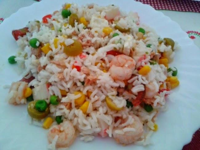 Dulces sue os ensalada de arroz salteado - Salteado de arroz ...