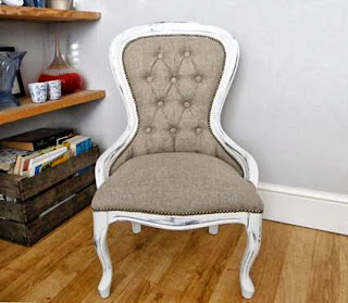 Vintage chairs in decor