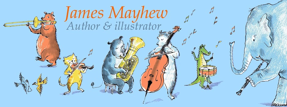 James Mayhew - author & illustrator