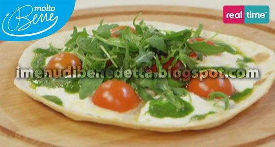 Piadi Pizza Filante di Benedetta Parodi