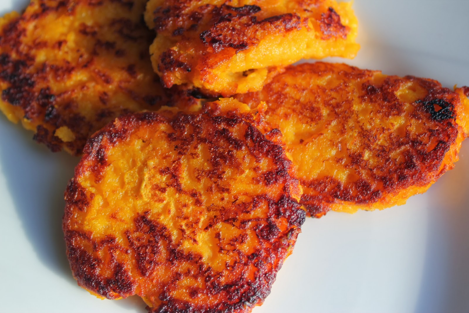 Lille Punkin': Thanksgiving Leftovers: Fried Sweet Potato Cake Recipe