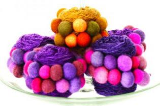 Be Sweet Bubble Ball Yarn + A Free Knitting Pattern!