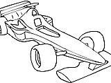 Desenhos da Formula 1 para Colorir