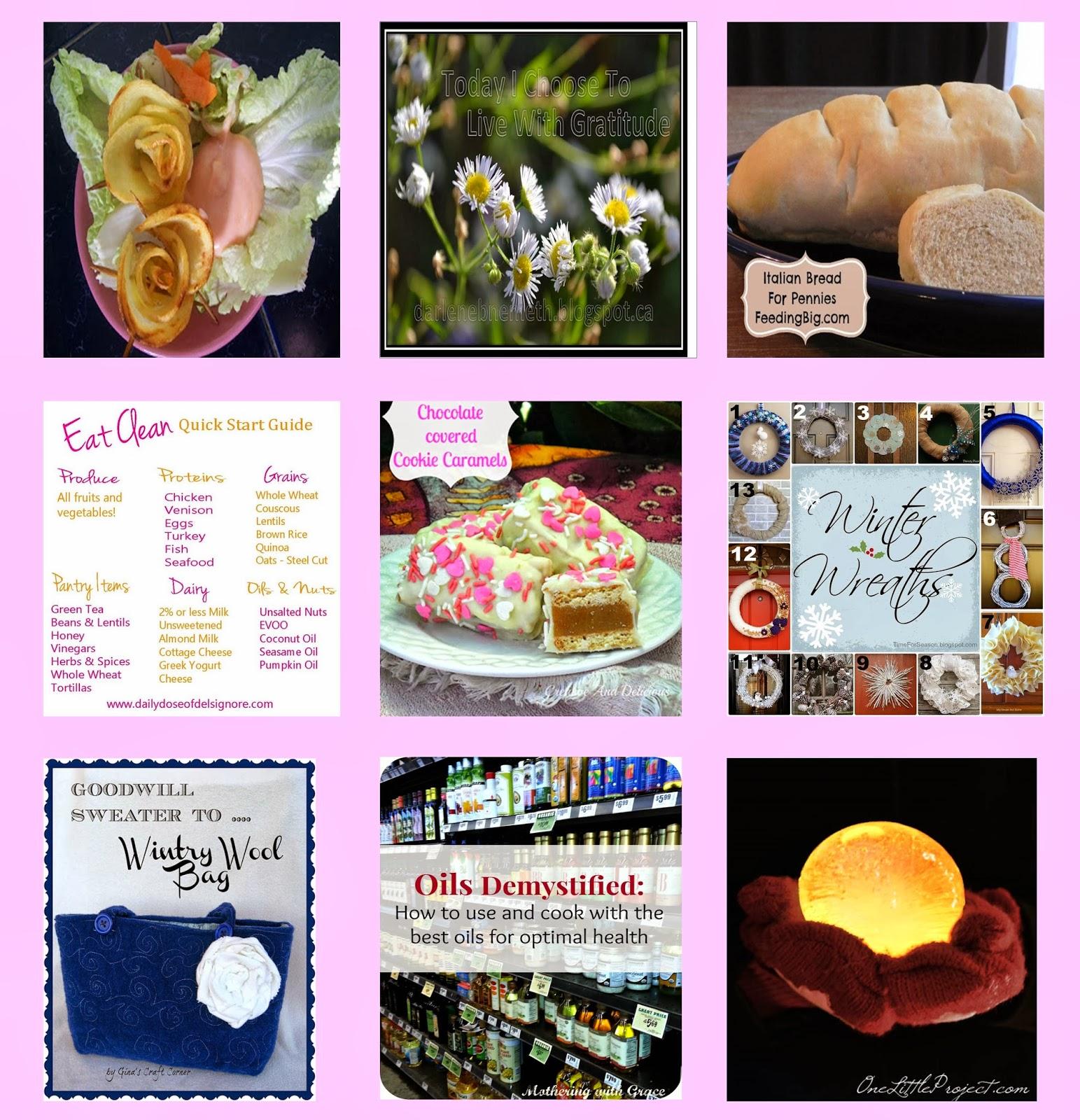 Four Seasons Blog Hop Features