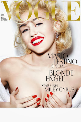 Miley Cyrus HQ Pictures Vogue Germany Magazine Photoshoot March 2014 By Mario Testino