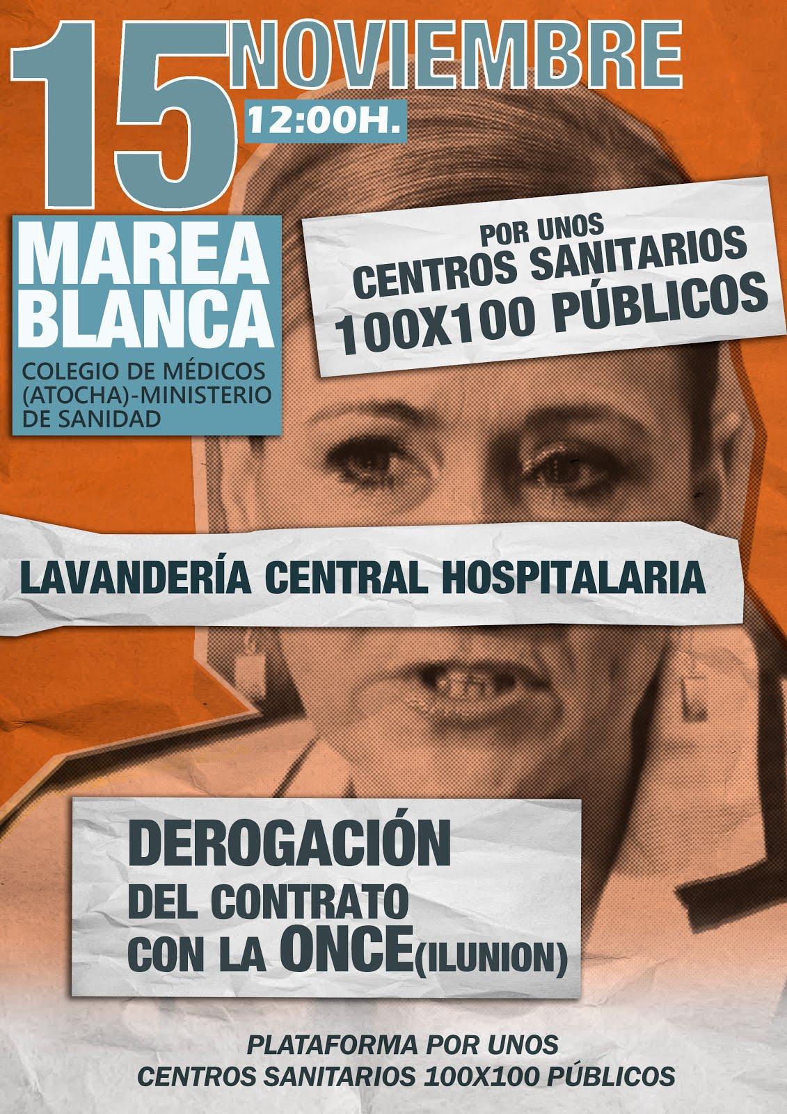 MAREA BLANCA 15 NOVIEMBRE