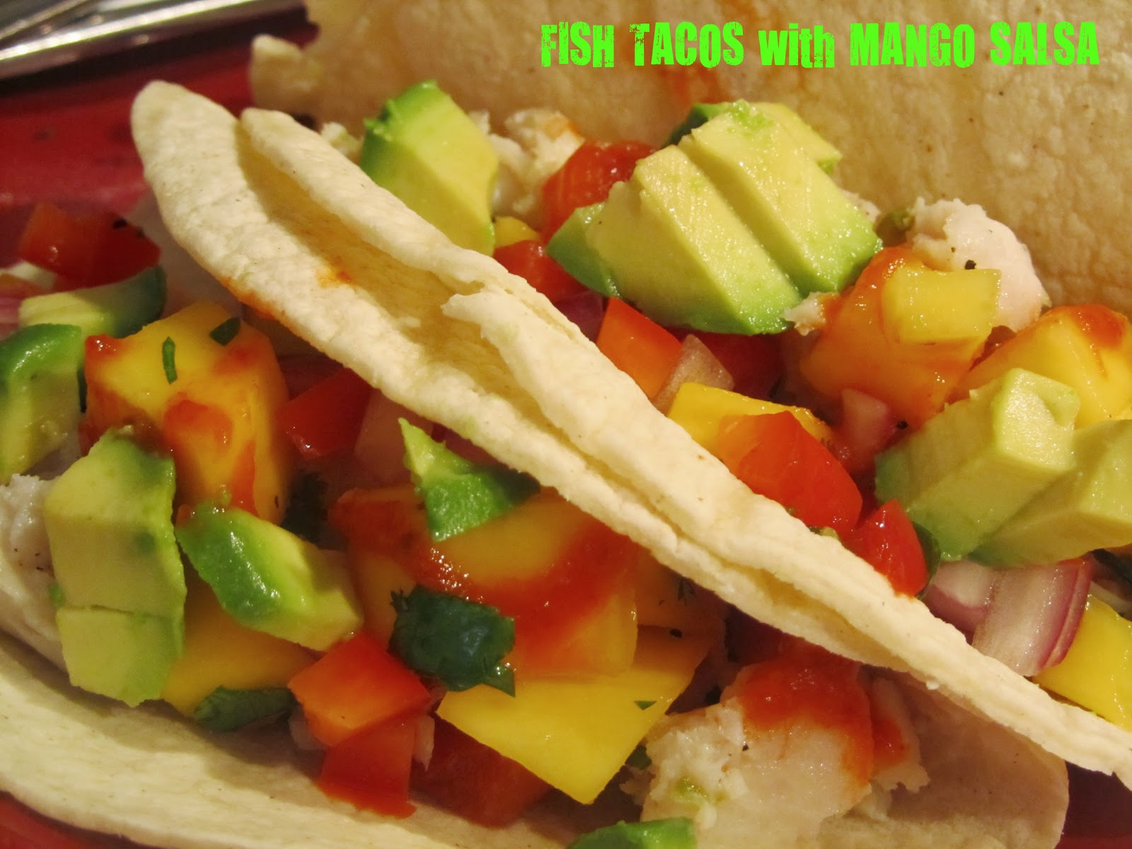 Terracotta caf fish tacos with mango salsa for Salsa for fish tacos