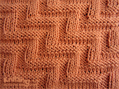 Knitting Stitches Texture : Labyrinth Texture Knitting Stitch Patterns