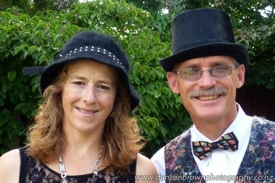 Linda and Duncan Brown photograph