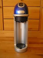 Meinung Erfahrungsbericht Bewertung Sodastream Fizz blau Blog