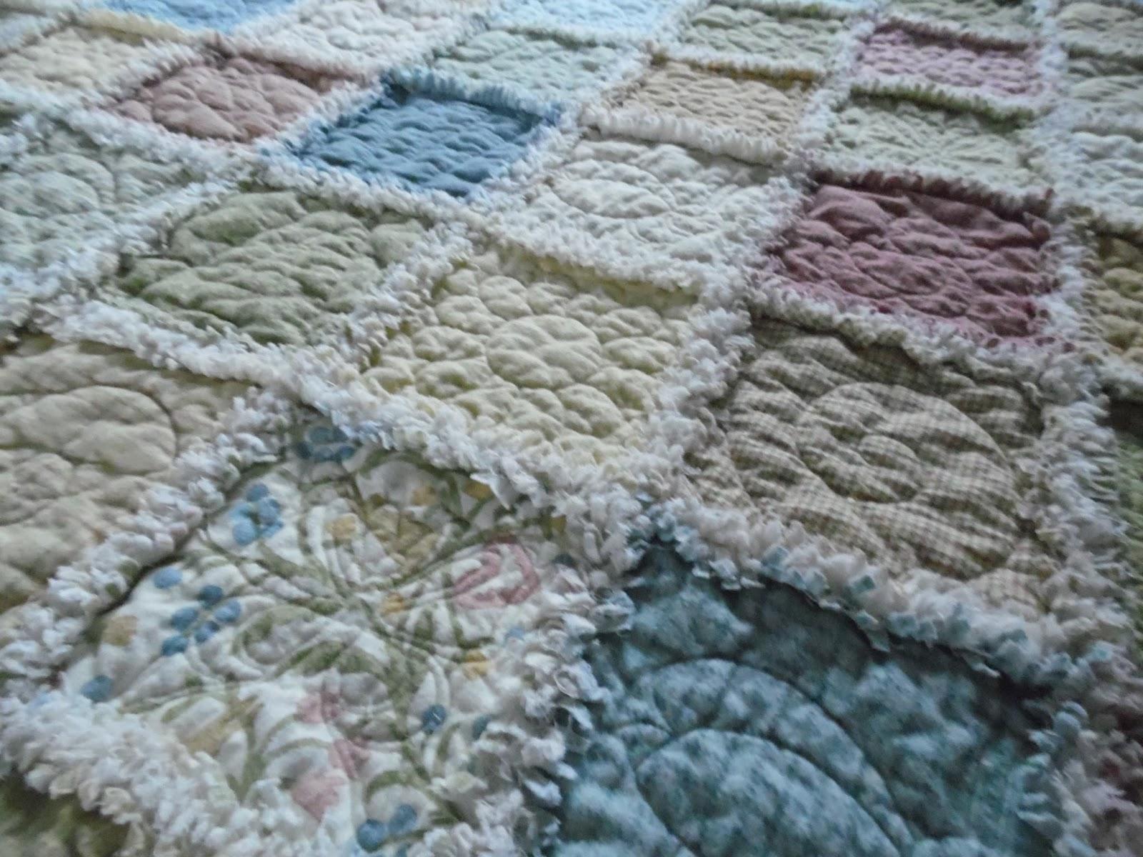 Serena Bean Quilts Accuquilt Rag Quilt