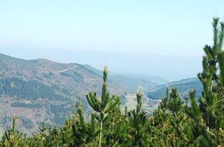 Taramundi, vista de la zona norte del concejo