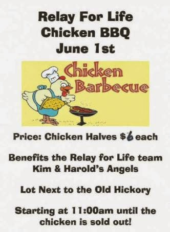 6-1 Chicken BBQ Relay For Life
