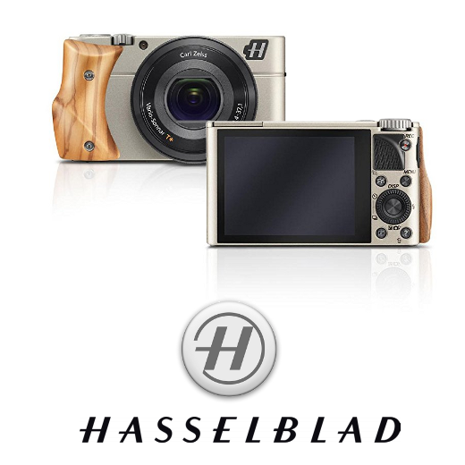 Hasselblad Stellar Camera - Silver/Olive Wood - image