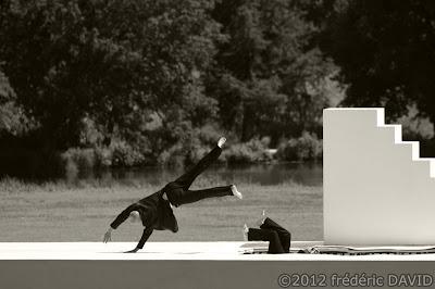 spectacle danse contemporaine Yoann Bourgeois Cavale Chamarande Essonne