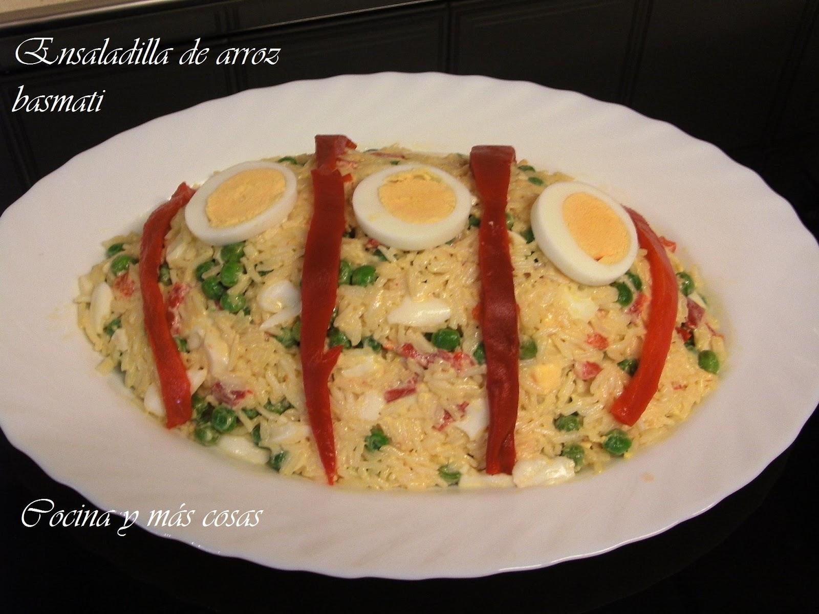Cocina y m s cosas ensalada de arroz - Ensalada de arroz light ...