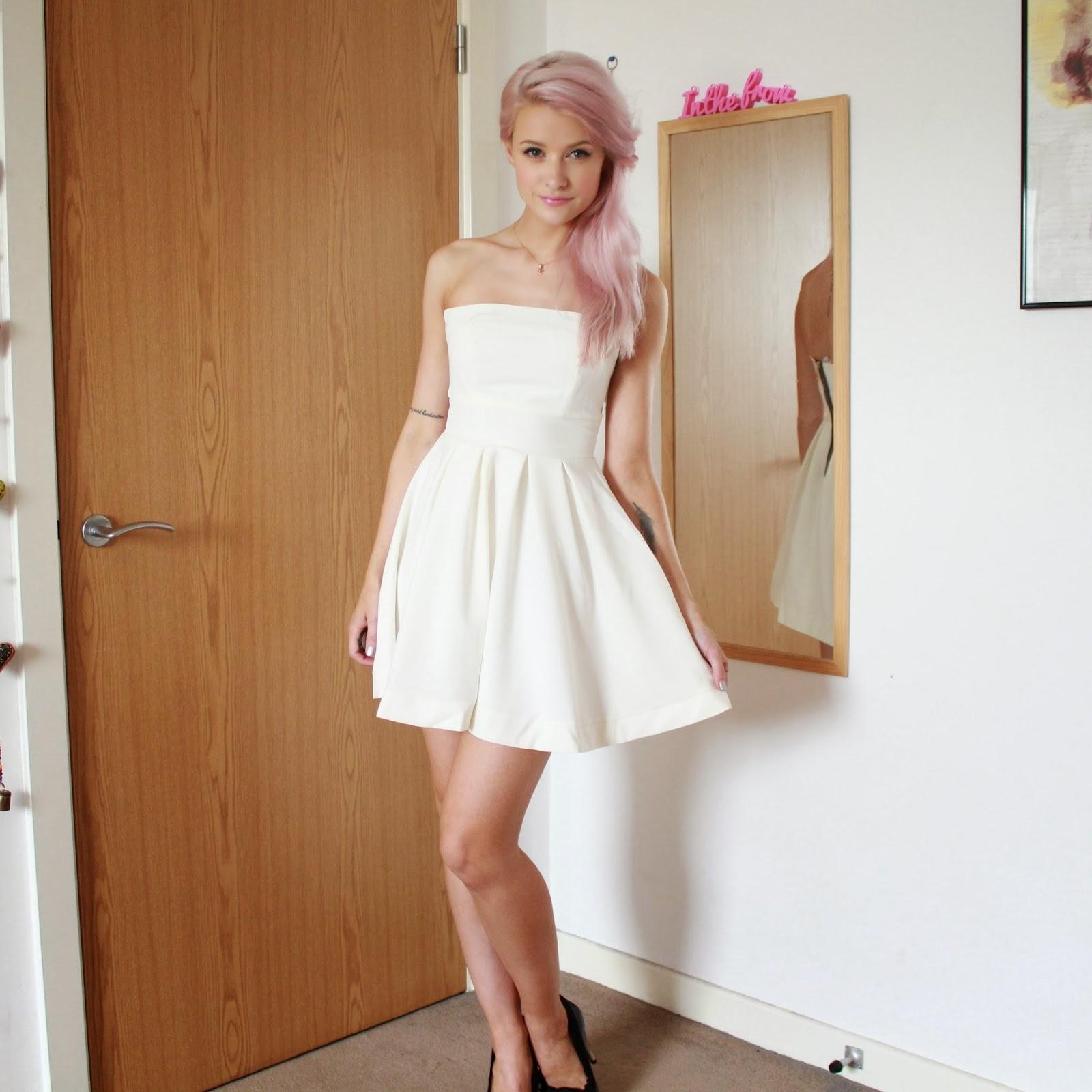 hedonia ivory liberty dress
