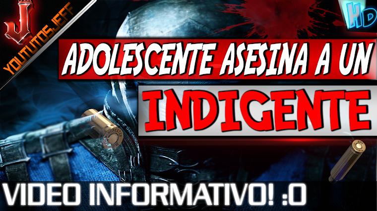UN MENOR DE EDAD ASESINA SIN MOTIVO A UN INDIGENTE A PLENA LUZ DEL DIA EN COLOMBIA   2015