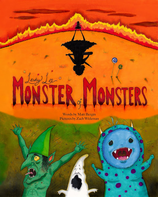 Lesky Lee, Monster of Monsters cover by Zach Wideman