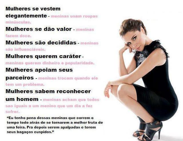 Mensagens para Facebook e Imagens para Mulheres