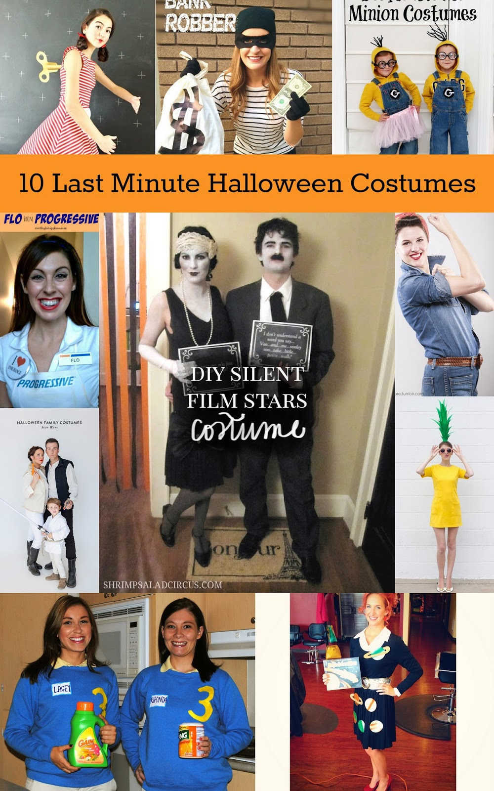 sc 1 st  Housewife Eclectic & 10 Last Minute Halloween Costumes - Housewife Eclectic