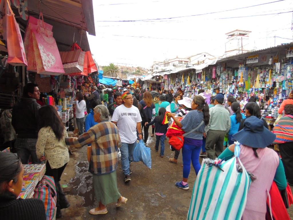 Resultado de imagen de mercado cancha cochabamba