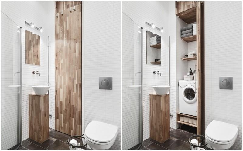 La fabrique d co int grer esth tiquement un lave linge for Hublot porte salle de bain