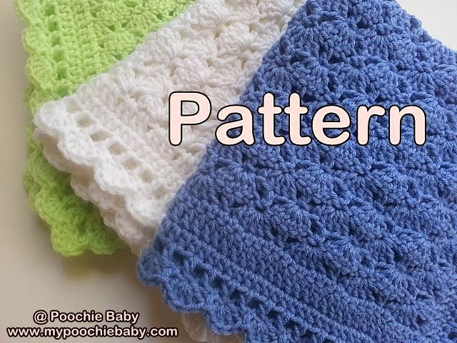 Crochet Patterns One Skein : one skein baby blanket