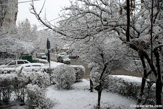 nieve - zăpadă