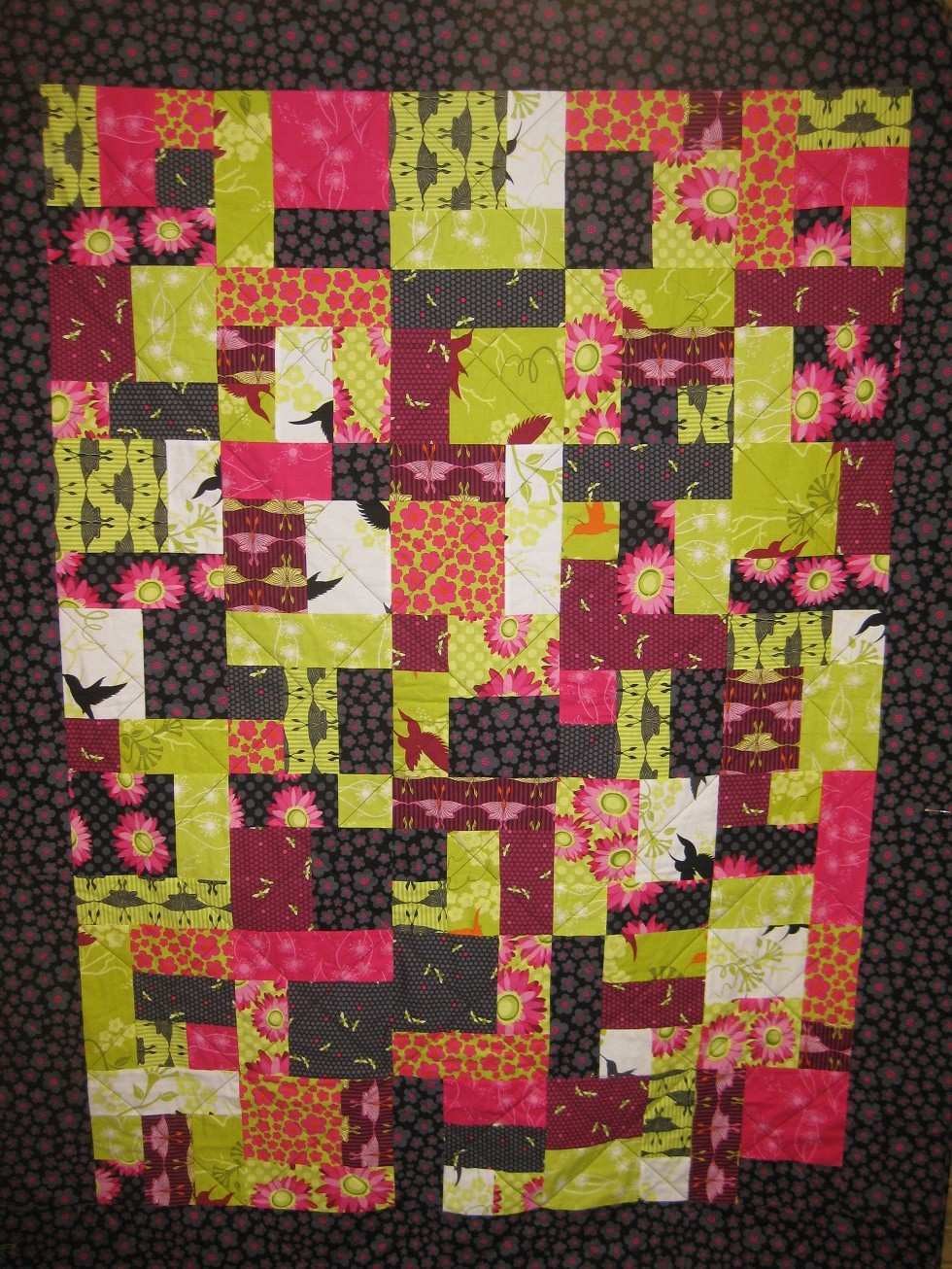 Free Quilt Pattern For Yellow Brick Road : Brick Box Image: Free Yellow Brick Road Quilt Pattern